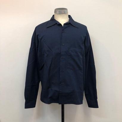 UNITUS(ユナイタス) FW17 Open Collar Shirts Navy【UTSFW17-S02】(N)