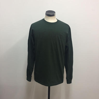 TENBOX×EAST4TH L/S TEE FOREST GREEN