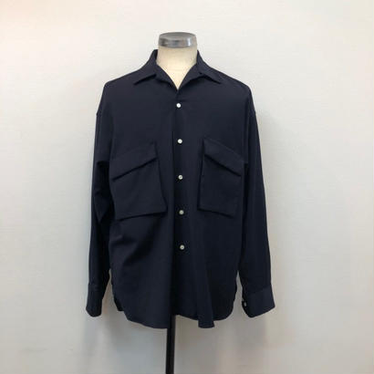 UNITUS(ユナイタス) SS19 Patch and Flap Shirt Navy【UTSSS19-S04】(N)