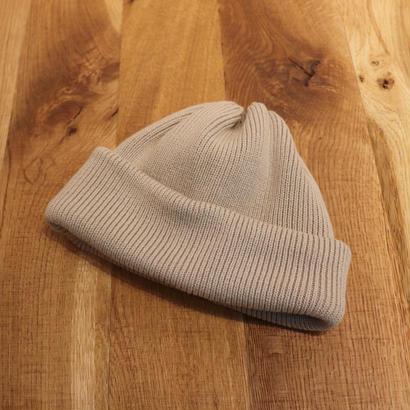 CREPUSCULE クレプスキュール Knit Cap 2  Beige【1901-009】(N)