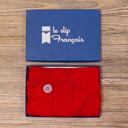 LE SLIP FRANÇAIS(ルスリップフランセ) Boxer Shorts 【Red】