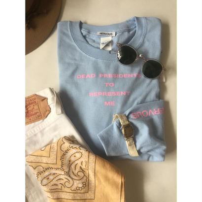 Lyric long sleeve T - shirt /L.blue