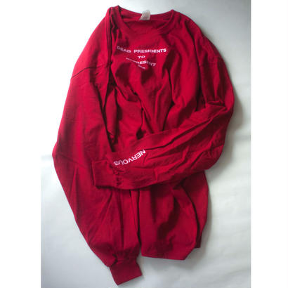 Lyric long sleeve T- shirt/Red
