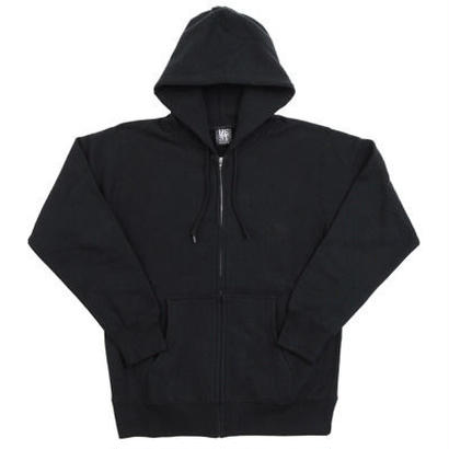 SHOTS T.S.N.M SWEAT FULL ZIP PARKA (BLACK)
