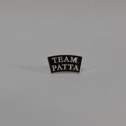 Patta Team Patta Pin / Black/White