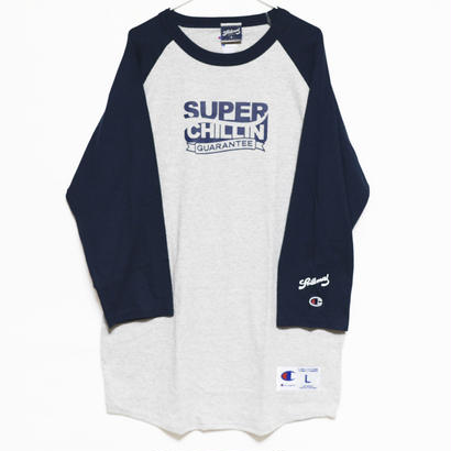 PRILLMAL SUPER CHILLIN RAGLAN T-SHIRTS
