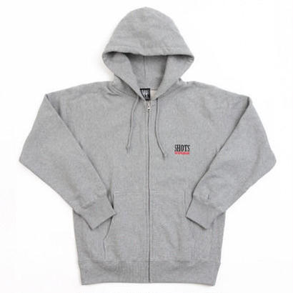 SHOTS T.S.N.M SWEAT FULL ZIP PARKA (GRAY)