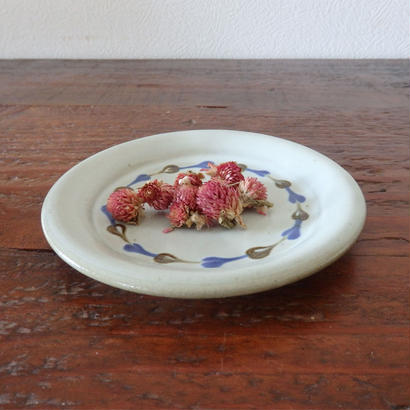 袖師窯 5寸ケーキ皿