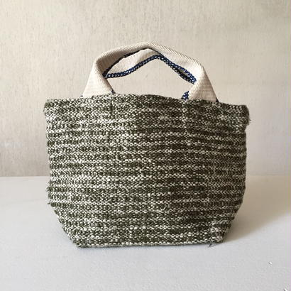 Gara-bou × Canvas Small Tote (Olive)