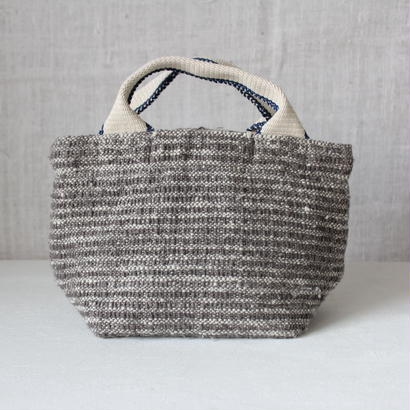 Gara-bou × Canvas Small Tote (Silver)