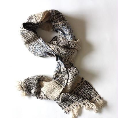Gara-bou Muffler 20×190cm (Bolivian Gray)
