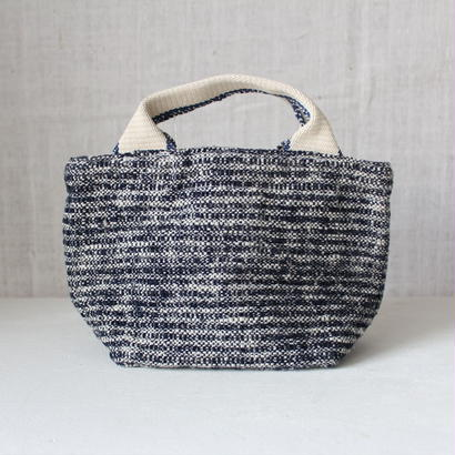 Gara-bou × Canvas Small Tote (Indigo)