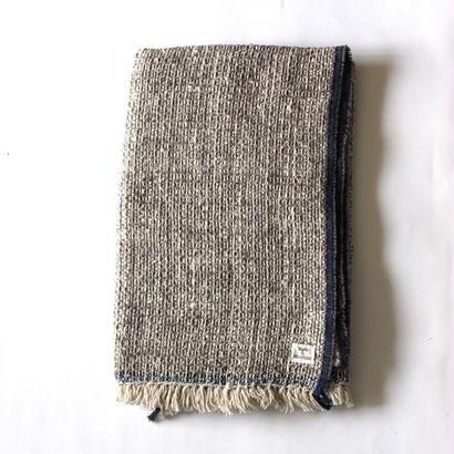 Gara-bou Blanket Stole 90×190cm (Light Gray)
