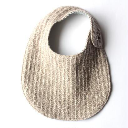 Gara-bou Baby Bib (Sand)