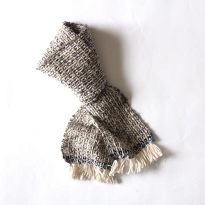 Kids & Baby Gara-bou Muffler (Light Gray)