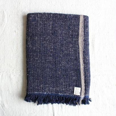 Gara-bou Blanket Stole 90×190cm (Night Ash)