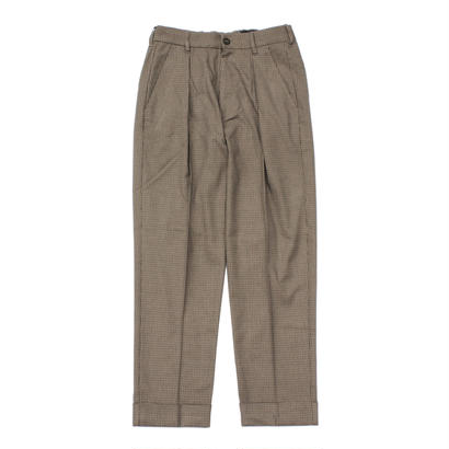Utility trouser - Gun club check / Moss