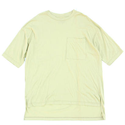 Big Pocket Tee - Tencel Cotton / Lt.Green