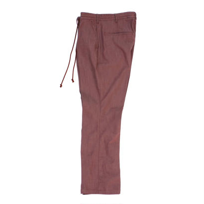 Jean Trousers - Tencel Denim / Burgundy