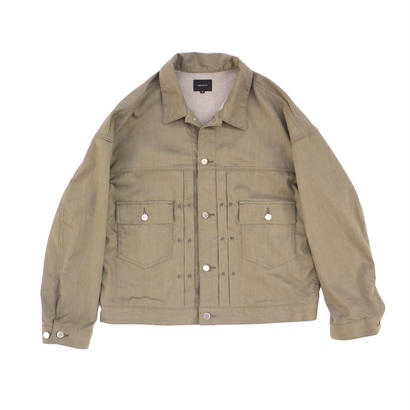 Big Jean Jacket - Tencel Denim / Khaki