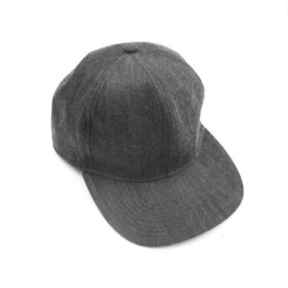 Prompter Cap - Tencel Denim / Black