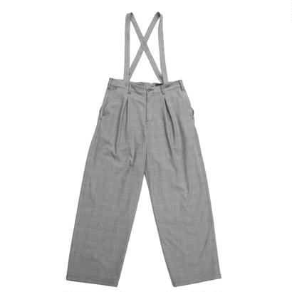 Mirror Pant 改 - Brushed Glen Check / Grey