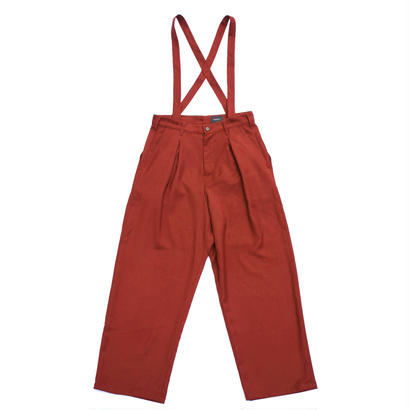Mirror Pant 改 / Vermillion Red