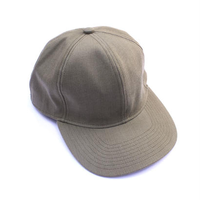 Prompter Cap - Tencel Denim / Khaki