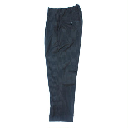 Utility Trouser - Jacquard Stripe / Navy