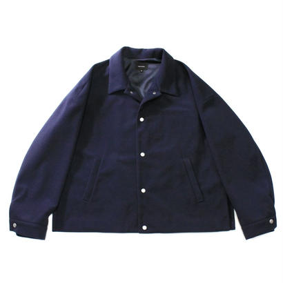 Coach jacket - Polyester Melton / Navy