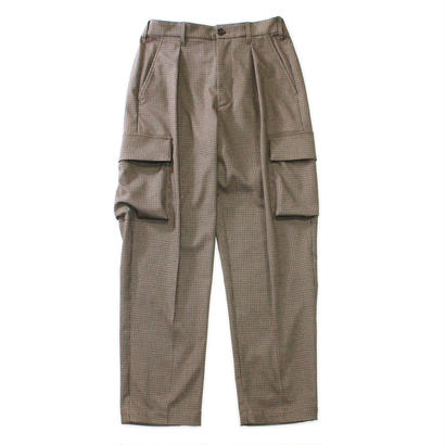 Utility cargo trouser - Gun club check