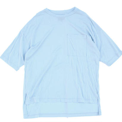 Big Pocket Tee - Tencel Cotton / Sky