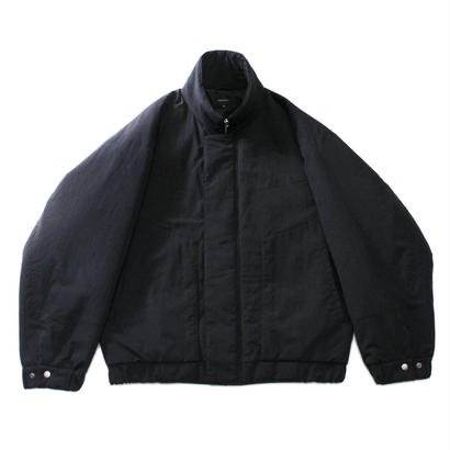 Stand balloon jacket / Black