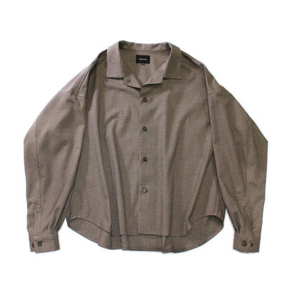 Big shirt jacket 改 - Gun club check