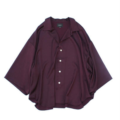 Haori Shirt - Sateen / Purple