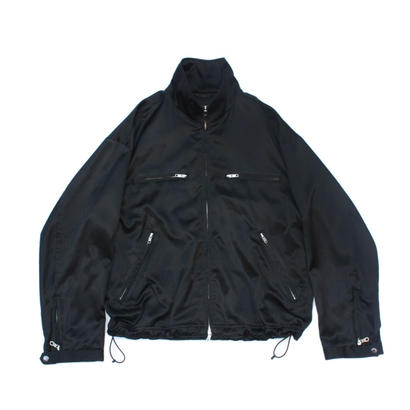 Track Riders Jacket - CR Sateen / Black