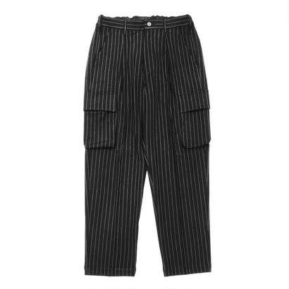 Utility cargo trouser - Double stripes