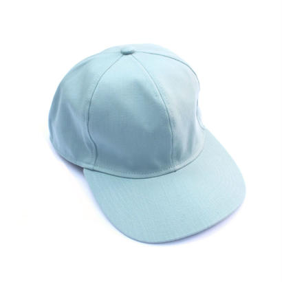 Prompter Cap - Tencel Denim / Mint
