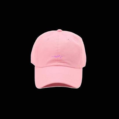 NEW 声紋キャップ Pink