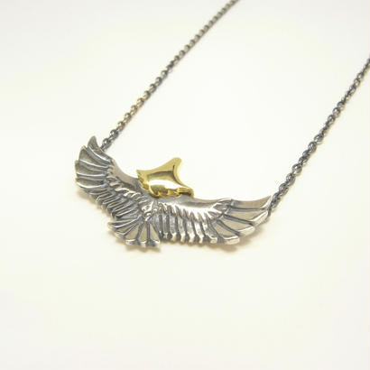 baby eagle necklace | sv×k18yg