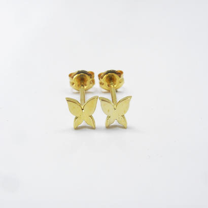 petite butterfly pierce | small