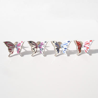 +color!! butterfly pierce | Large