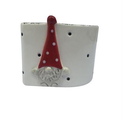 サンタさんの陶器の器(小)