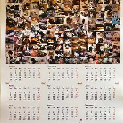 2018にゃなかオリジナル写真カレンダー