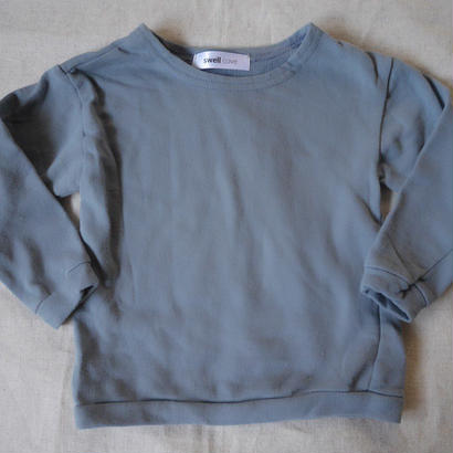 [swellcove] cotton sweat tops blue