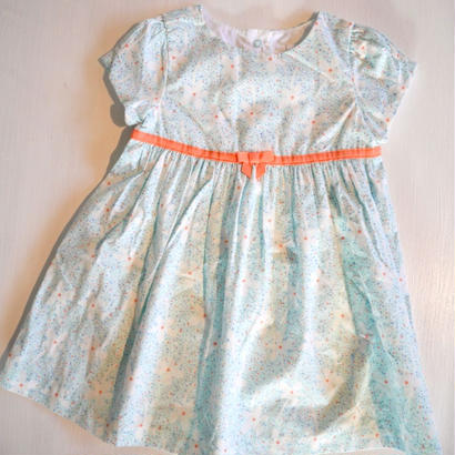 【GYMBOREE】    aquq flower dress