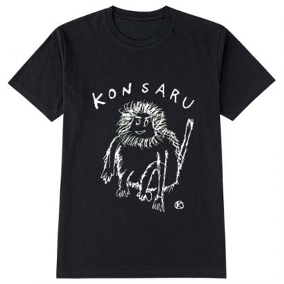 KONSARU Tシャツ BLACK,NAVY,GREEN,BLUE