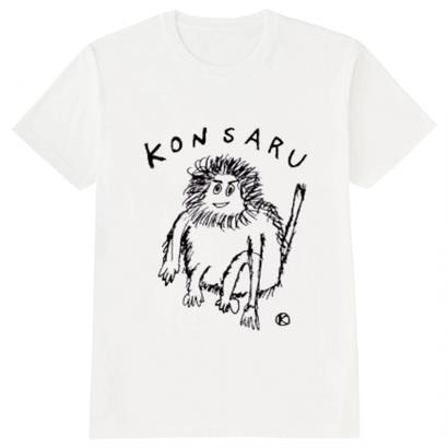 KONSARU Tシャツ WHITE,GRAY,RED,YELLOW