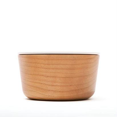[kime]磁器と木のキャンドルホルダー