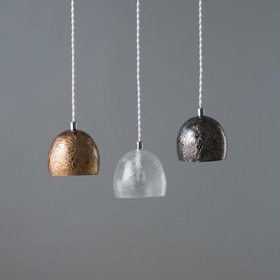 [TREE FROST]  02 ペンダントランプGULE+GOLD(膠にゴールドを焼付け) / GULE+PLUTINUM(膠にプラチナを焼付け)